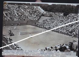 TENNIS STADE ROLAND GARROS 1934 COUPE DAVIS FRANCE AUSTRALIE - Sport