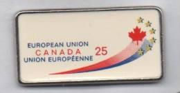 Beau Pin´s , Européan Union , Canada , Union Européenne - Steden