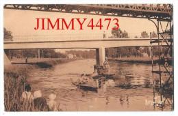 CPA N° 9716 - La Sèvre Niortaise Au Pont D' IRLEAU 79 Deux Sèvres - Scans Recto-Verso - Edit. Raymond Bergevin - Autres Communes