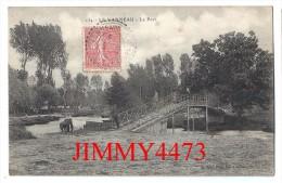 CPA N° 154 - Le Port, Bien Animé En 1908 - LE VANNEAU 79 Deux Sèvres - Scans Recto-Verso - Edit. N. Alix Pap.Tabac Niort - Autres Communes