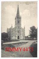 CPA N° 440 - L' Eglise - LE VANNEAU 79 Deux Sèvres - Scans Recto-Verso - Edit. N. Alix Pap.Tabac Niort - Autres Communes
