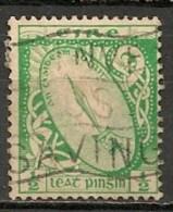 Timbres - Irlande - 1922-1924 - 1/2 P. - - 1922-37 Stato Libero D'Irlanda