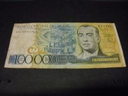 BRESIL 100000 Cruzeiros 1985 Pick N° 205, BRAZIL - Brasilien