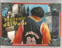 Carte 4 Volets , 21 X 15 , Carte à Système , Scénette En 3 D , Film : QUASIMODO , Souvenir D'El Paris , 2 Scans - Autres