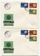 2 Env 1ier Jour EUROPA 1970 - 1910-... République