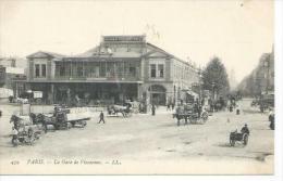 459 - PARIS - LA GARE DE VINCENNES ( Animées ) - Arrondissement: 12