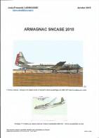 """Répertoire Historique  """"ARMAGNAC SNACSE 2010"""" Dont Utilisation Air France - Correo Aéreo E Historia Postal"""