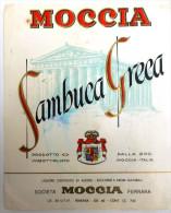 SAMBUCA GRECA, Moccia, Ferrara - Etichette