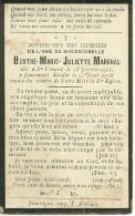 Tintigny Saint Vincent Berthe Marie Juliette Marchal 1901 23 Août1918 - Tintigny