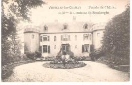 Virelles-lez-Chimay Façade Du Château De  Mme La Comtesse De Sousberghe - Chimay