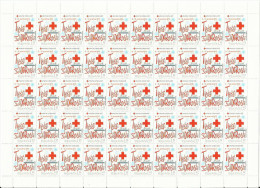 HR 2012-ZZ127 RED CROSS SOLIDARNOST, HRVATSKA CROATIA, 50 X 1v, MNH - Kroatien
