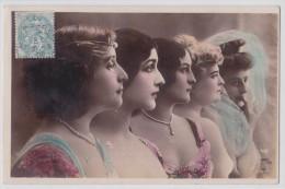 Photographe Reutlinger - Quintette D'artistes - Oranotypie Steglitz Berlin 1904 - Théâtre