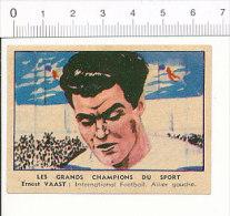 Chocolat De L´Union  / Sport Football - Ernest VAAST - International équipe De France / Foot Vintage / IM 126/52-A - Cioccolato