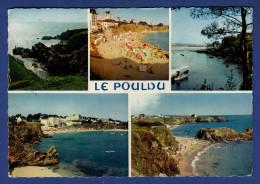 29 LE POULDU Les Plages, La Rivière, Et Les Falaises 5 Vues - Le Pouldu