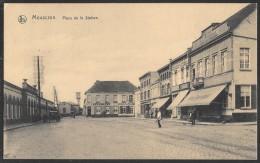 Mouscron Place De La Station - Feldpost 1917 - Mouscron - Möskrön