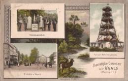 Vaals - Aken - Grenze - Grens - Kelmis - Vierlanderblick - Aachen - Neutral Gebiet Moresnet - Douane Zoll Militair - Vaals