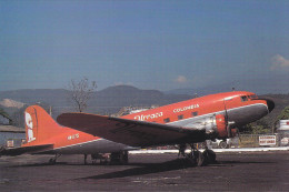 Urraca Colombia DC-3 Airplane , 60-80s - 1946-....: Era Moderna