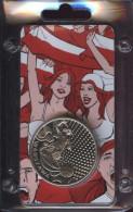 K-N Medaille Zur Fußball-Europameisterschaft 2012, Austragungsort Warschau - Elongated Coins