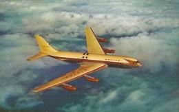 AVION AVIATION  BOEING 707  JET TANKER  EDIT NATURAL COLOR - 1946-....: Moderne
