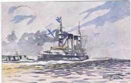 Cpa Dessin Harry Heusser 1906 - Guerra