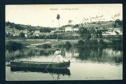FRANCE  -  Bourre  Le Passage De Bac  Used Vintage Postcard As Scans - France
