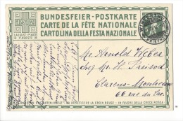 N12- Fête Nationale Bundesfeier Carte N°3  1er Jour 01.08.1912  Winterthur - Entiers Postaux