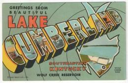 Greetings From Lake Cumberland, Southeastern Kentucky - Wolf Creek Reservoir - Etats-Unis