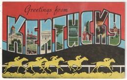 Greetings From KENTUCKY - Etats-Unis