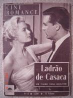 TO CATCH A THIEF - GARY GRANT GRACE KELLY JESSIE ROICE LANDIS PORTUGAL MAG 1956 CINE ROMANCE KAY KENDALL - Riviste & Giornali