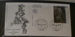 FDC DESSIN AUTOMATIQUE DE CAMILLE BRYEN      1987     0200 - FDC