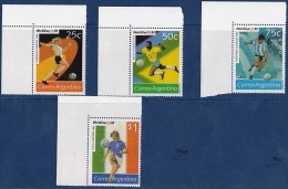 ARGENTINE 1994       Football      Coupe Du Monde 94   World Cup 94        4v - World Cup