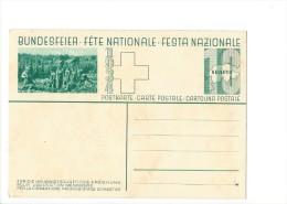 N27- Fête Nationale Bundesfeier Carte1934 Jeune Fille Pour L'éducation Ménagère Carte Neuve - Entiers Postaux