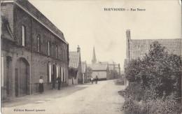 AK Bouvignies Rue Neuve1. Weltkrieg Feldpost - France