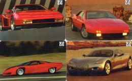 CARTES PREPAYEES  SEPA   Automobiles  Cars  (lot De 4)  ******6 - France