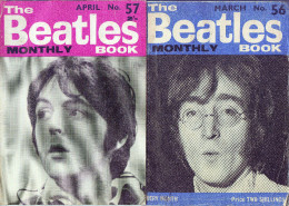 The BEATLES Monthly   Book 56 Et 57 April And March 1968 - Bibliographies, Indexes