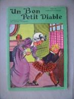 UN BON PETIT DIABLE Comtesse de S�gur: Livret 1958 Illustrations de CALVET ROGNIAT - Imprimerie Nationale de MONACO