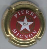 CAPSULE-CHAMPAGNE MIGNON Pierre N°14q-rouge étoile Blanche - Mignon, Pierre