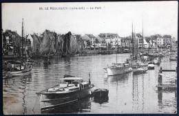 CPA 44 Le Pouliguen Le Port Belle Carte - Le Pouliguen