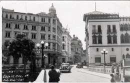 RRR! CALI (Valle, Colombia) - Strassenansicht, Alte Autos, Orig.Fotokarte Gel.1939 Aus COLUMBIEN Nach Wien, 4 Fach Frank - Kolumbien