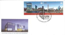 Oblitération Temporaire Expo Shanghai 2010 - New-York - Siège De L'ONU