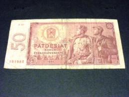 TCHECOSLOVAQUIE 50 Korun 1964, Pick N° 90 B, CZECHOSLOVAKIA CESKOSLOVENSKA - Tchécoslovaquie