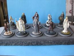 10 Figurines En Plomd Le Seigneur Des Anneaux 54 Mm Vendu Avec Socle & - Dungeons & Dragons