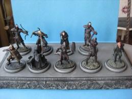 9 Figurines En Plomd Le Seigneur Des Anneaux 54 Mm Vendu Avec Socle & - Dungeons & Dragons