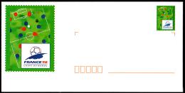 B1-025H- PAP Coupe Du Monde De Foot 1998 - ITVF - Biglietto Postale