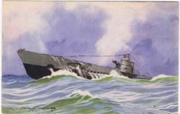 "Cpa SOUS MARIN ""ARIANE"" - Submarinos"