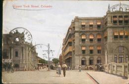 Ceylon    Ceylan    Upper  York Street Colombo - Cartes Postales
