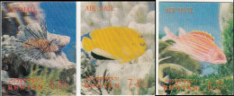 Bhutan 1969 Fishes 3 D Air Mail MNH * * - Bhutan