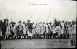 DJIBOUTI  DANSE SOMALI FETE ETHNOLOGIE - Djibouti