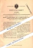 Original Patent - Samuel Tweedale In Accrington , Lancashire , 1881 , Loom , Apparatus For Weaving !!! - Other