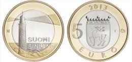 """FINLANDIA / FINLAND  5€  2.013  2013  BIMETÁLICA  SC/UNC   """"ALAND""""   T-DL-11.286 - Finland"""